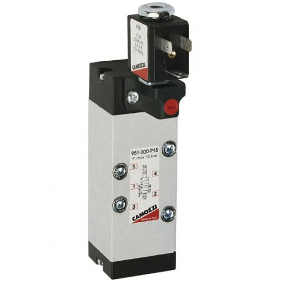 Распределитель электропневматический Camozzi 951-000-P15-23