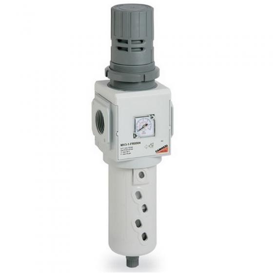 Фильтр-регулятор с манометром Camozzi MX3-3/4-FR0004