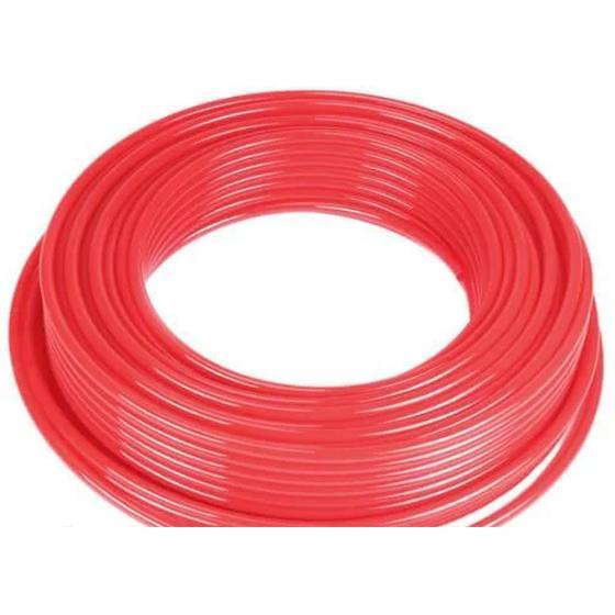 Трубка полиэтиленовая красная Camozzi TPE 6/4-R