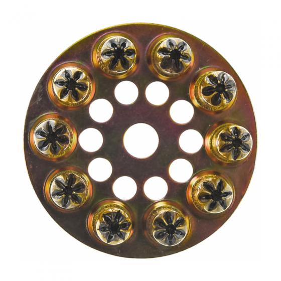 Патрон индустриальный 6,3х10 черный F-DK5 (10шт в диске) / 100шт