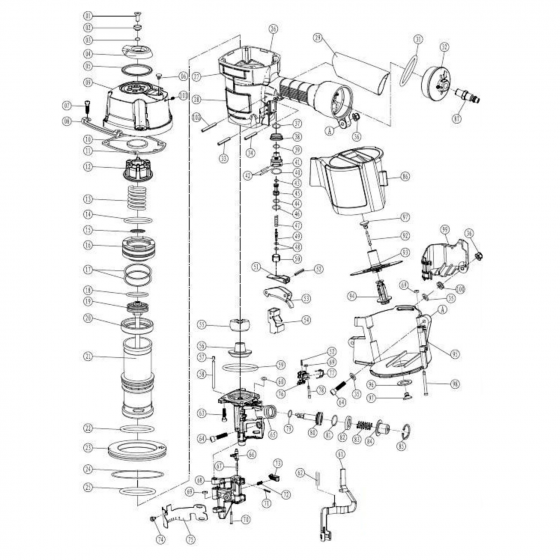 Курок (№53) для FROSP CN‑80