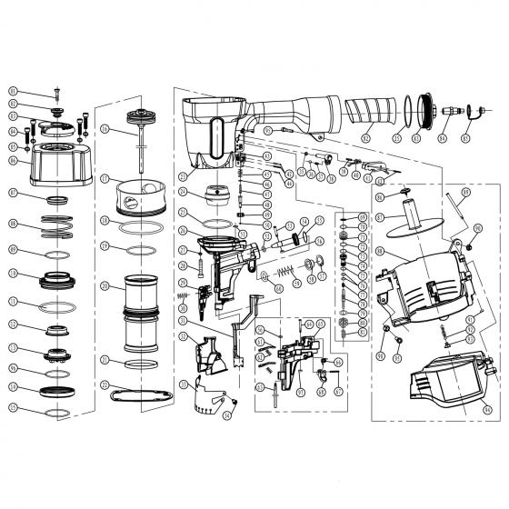 Внутреннее стопорное кольцо (№57) для FROSP CN‑90