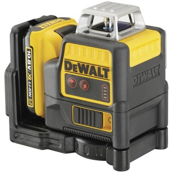 Самовыравнивающийся линейный КРАСНЫЙ лазерный уровень DEWALT DCE0811D1R
