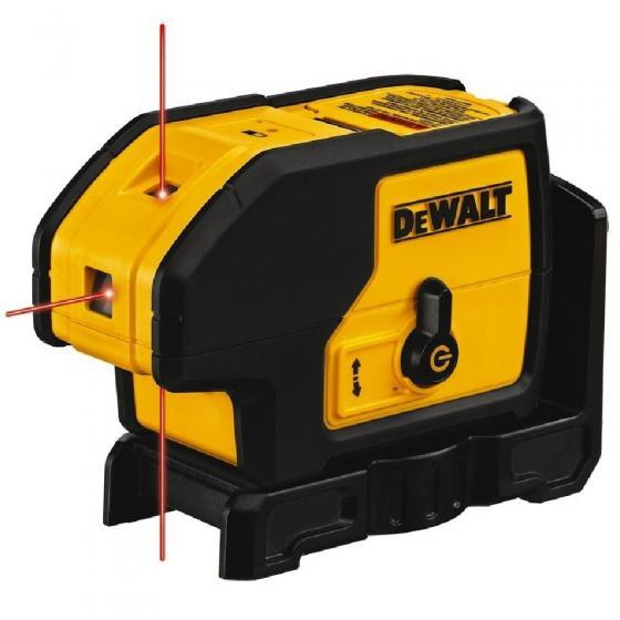 Самовыравнивающийся точечный КРАСНЫЙ лазерный уровень DEWALT DW083K