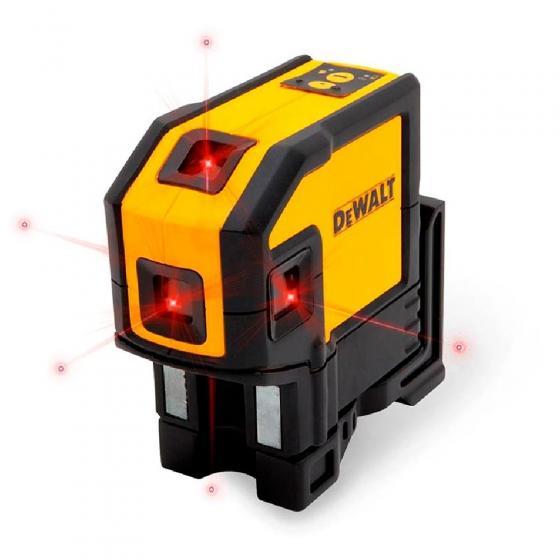 Самовыравнивающийся комбинированный КРАСНЫЙ лазерный уровень DEWALT DW0851