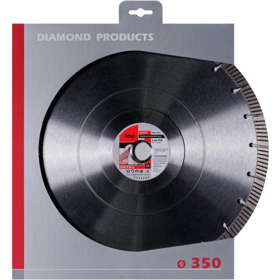 Алмазный отрезной диск Fubag Stein Extra D350 мм/ 25.4 мм [31350-4]