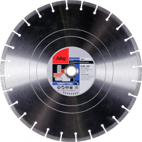 Алмазный отрезной диск Fubag BZ-I D400 мм/ 30-25.4 мм [54423-6]