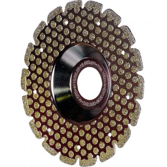 Алмазный отрезной диск Fubag Silver Double Action D115 мм/ 22.2 мм [89115-3]