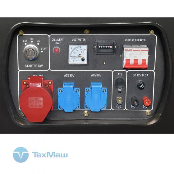 Дизель генератор TSS SDG 10000EH3