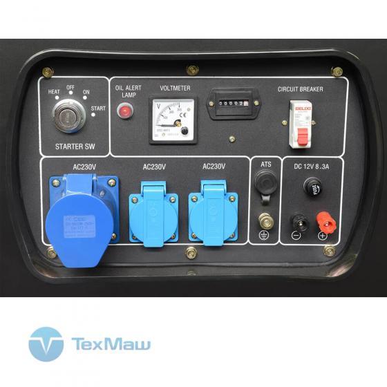 Дизель генератор TSS SDG 12000EH