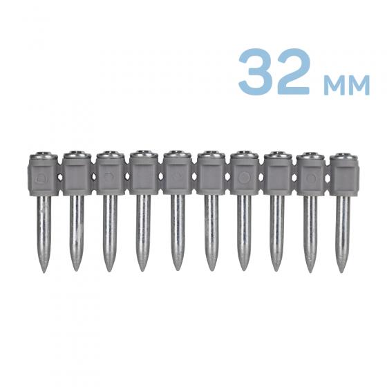 Дюбель-гвоздь по стали DNC 3.7х32мм 100 шт. [DNC32]