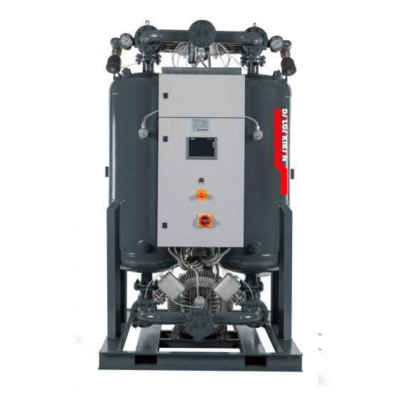 Осушитель воздуха DALGAKIRAN DryAir DBP-1000 адсорбционного типа с горячей принудительной регенерацией