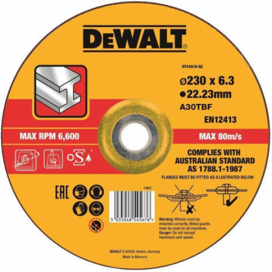 Круг обдирочный DEWALT DT43919
