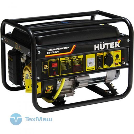 Электрогенератор DY4000LG Huter