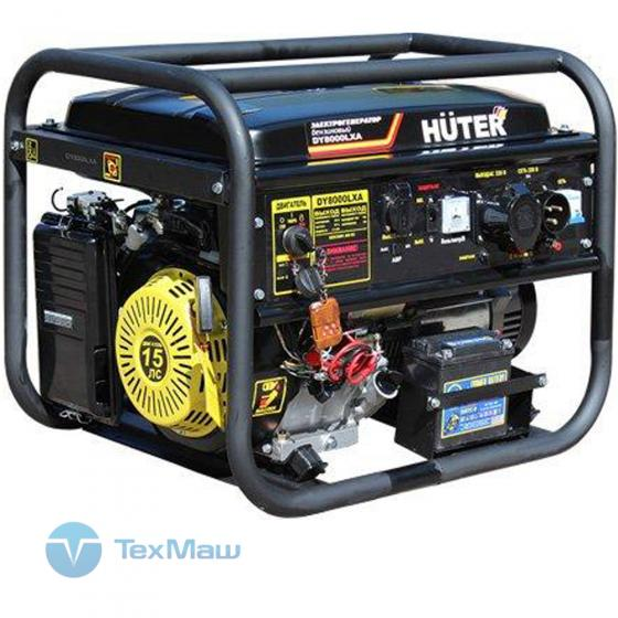 Электрогенератор бензиновый DY8000LXA (с АВР) Huter