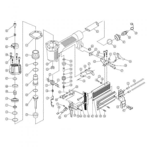 Главный поршень (№20) для FROSP F50