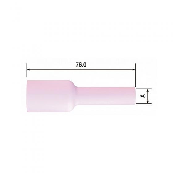 Сопло керамическое Fubag для газовой линзы №6L ф10 FB TIG 17-18-26 (10 шт.) [FB54N16L]