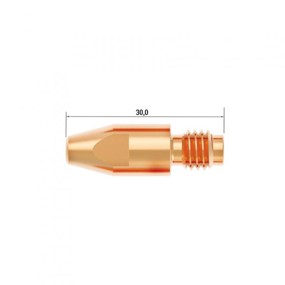 Контактный наконечник Fubag M8х30 мм CuCrZr D=1.6 мм (25 шт.) [FB.CTM8.30-16L]