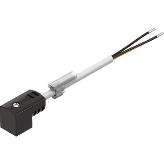 Штекерная розетка с кабелем Festo MEB-1-24-2,5-LED [151688]