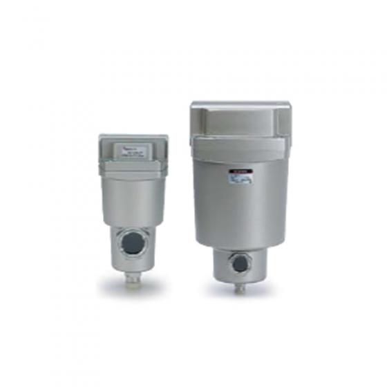 Субмикрофильтр с предфильтром SMC AMH G1/2 с индикатором [AMH450C-F04D-T]