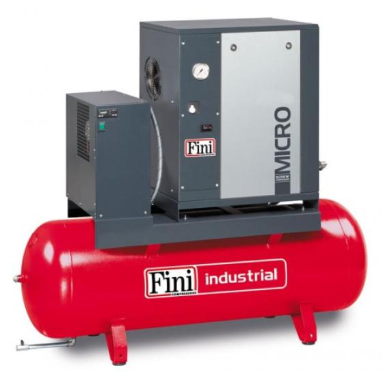 Винтовой компрессор на ресивере с осушителем FINI MICRO 4.0-10-200 ES