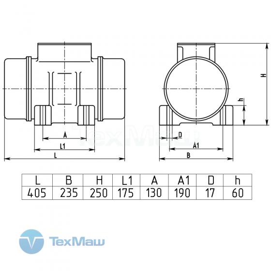 Вибратор площадочный ВИ-104 Б / 380В / Вибромаш /