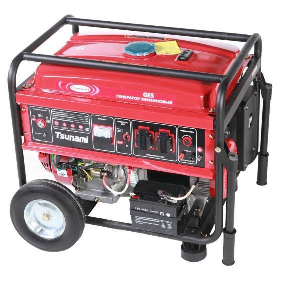 Генератор бензиновый Tsunami GES 6501E