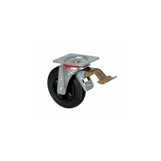 Передние колеса со стояночным тормозом EWM ON LB Wheels 160 x 40 mm