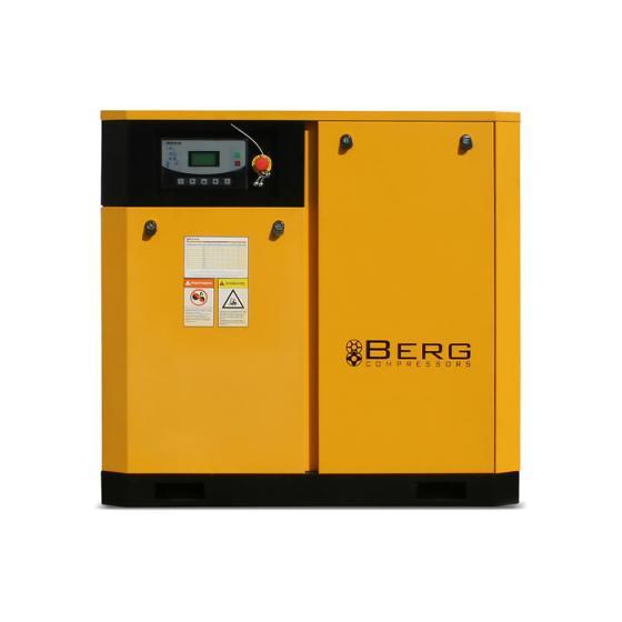 Винтовой компрессор Berg ВК-37Р - 12 бар
