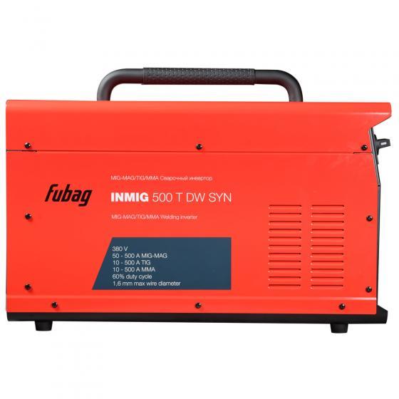 Сварочный полуавтомат FUBAG INMIG 500T DW SYN + подающий механизм  DRIVE INMIG DW + Шланг пакет 10м + горелка FB 400 3m [38029.5]