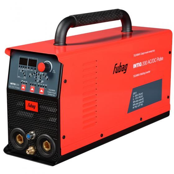Аппарат аргонодуговой сварки FUBAG INTIG 200 AC/DC PULSE [68441.2]