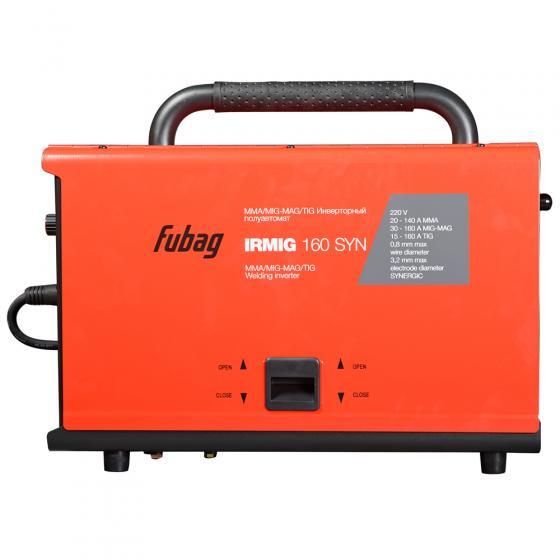 Сварочный инверторный полуавтомат FUBAG IRMIG 160 SYN + горелка FB 150 3 м [38641.1]
