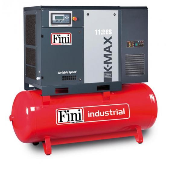 Винтовой компрессор на ресивере с осушителем, с частотником FINI K-MAX 1110-500F ES VS