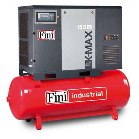 Винтовой компрессор на ресивере с осушителем FINI K-MAX 1510-500F-ES