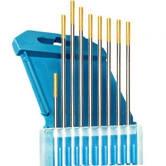 Электроды вольфрамовые КЕДР ВЛ-15-175 Ø 2,0 мм (золотистый) AC/DC [8013843]
