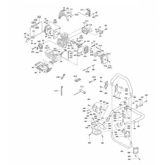 Болт с шестигранной головкой m5x12/Hex.Cap Button Bolt M5x12 для Vessel GT-3500GE [845279]