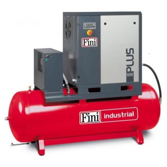 Винтовой компрессор на ресивере FINI PLUS 15-13-500 ES
