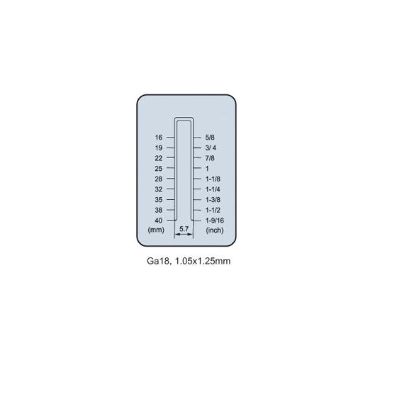 Скобозабивной пневмопистолет FROSP F9125