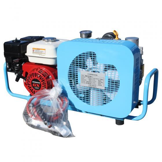 Компрессор высокого давления FROSP КВД 125/200 с бензиновым двигателем Honda GX160
