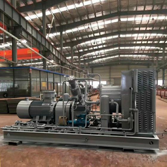 Промышленная метановая заправка FROSP КВД-ГС-200