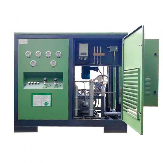 Промышленная метановая заправка FROSP КВД-ГС-50