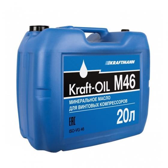 Масло компрессорное KRAFT-OIL M46/20л