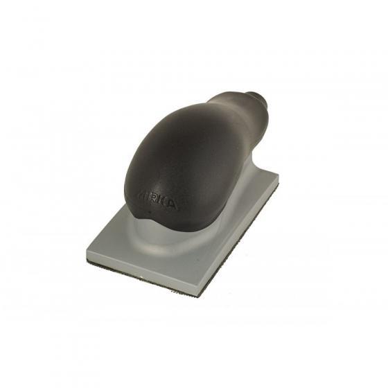 Блок шлифовальный с пылеотводом Mirka 70х125мм 13 отв. липучка [8391402011]