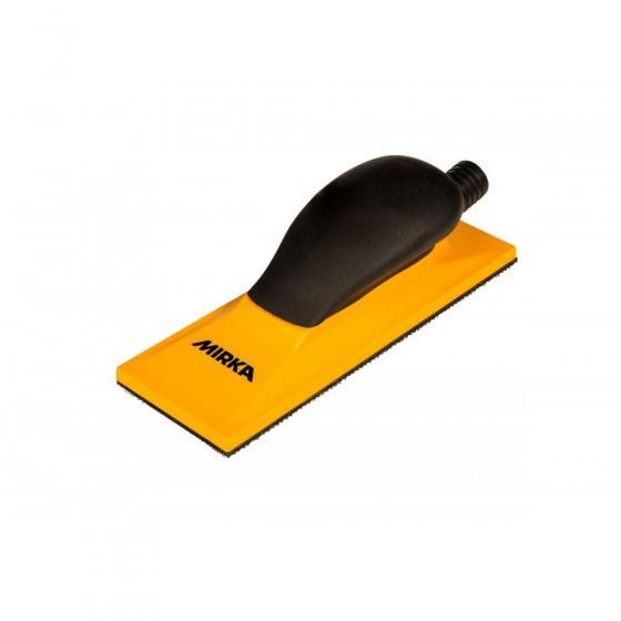 Блок шлифовальный с пылеотводом Mirka Premium 70х198мм 22 отв. липучка [8391500111]
