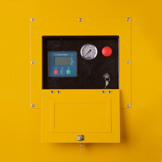 Компрессор передвижной ATMOS PDP 190 - 14 бар (регулируемая ходовая часть)