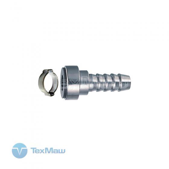 Переходник байонет на елочку 6 мм (с обжимным кольцом 6x11 мм) блистер Fubag 180400 B