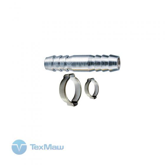 Елочка 8 мм - елочка 8 мм (2 обжимных кольца 8х13 мм) Fubag 180391
