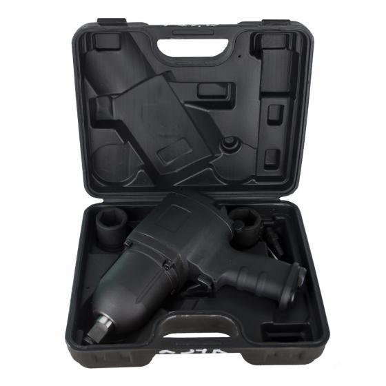 Пневмогайковерт FROSP ПГ-234К в пластиковом кейсе и с головками
