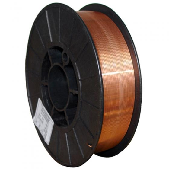 Проволока омедненная КЕДР Св-08Г2С-О Ø 0,8 мм (пластик кат. 2x5 кг) [7390034]