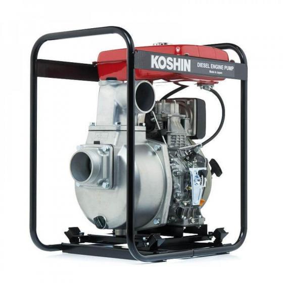 Дизельная мотопомпа для загрязненных вод Koshin SEY-100D
